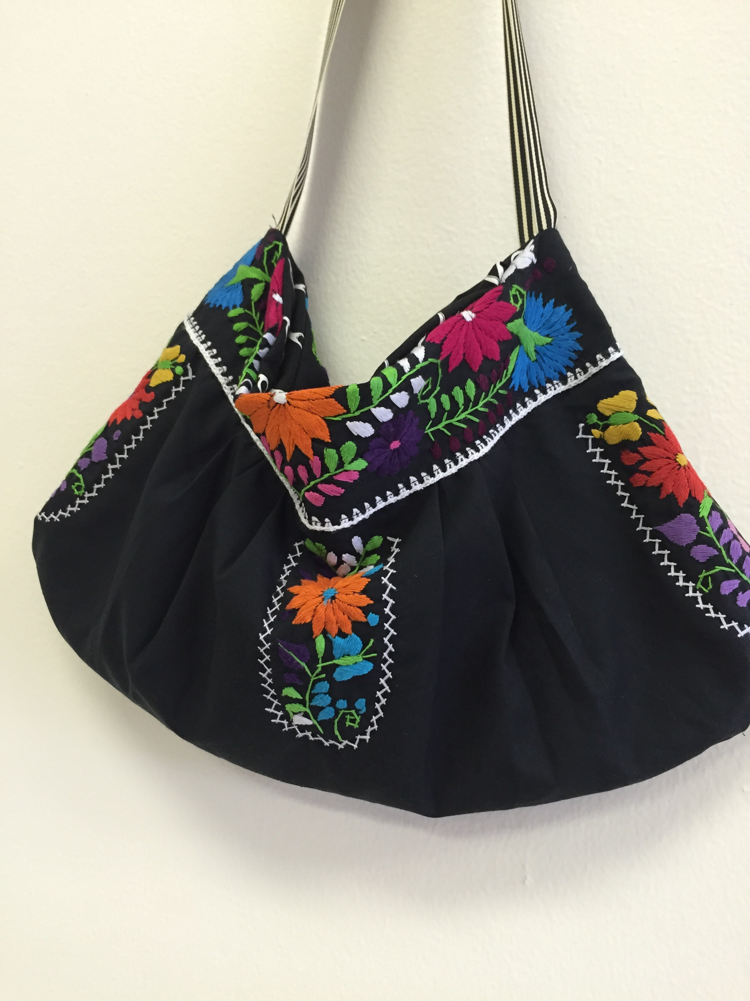 Mexican Embroidered Bag Sew Houston